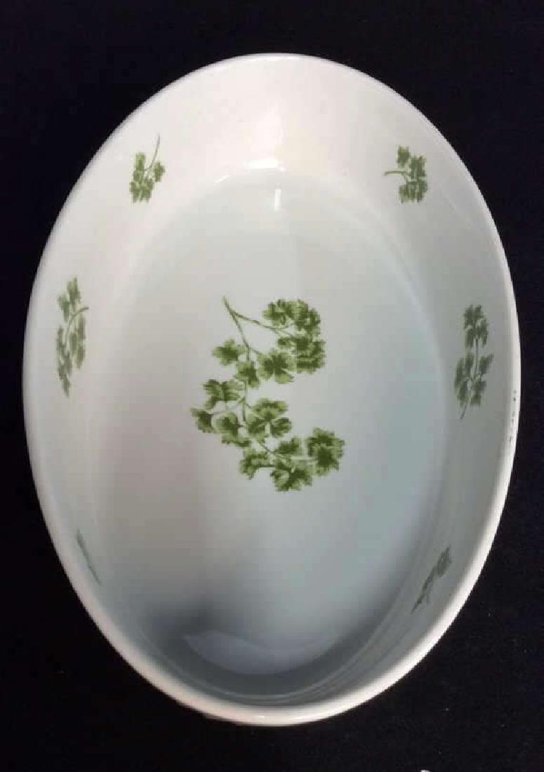 Lot 2 Porcelain Cookware Serving Dishes - 7