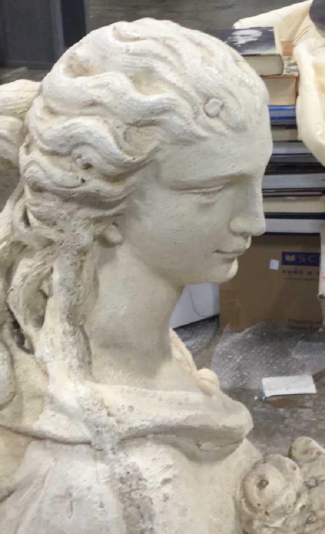 Stone Grecian Goddess Female Statuary