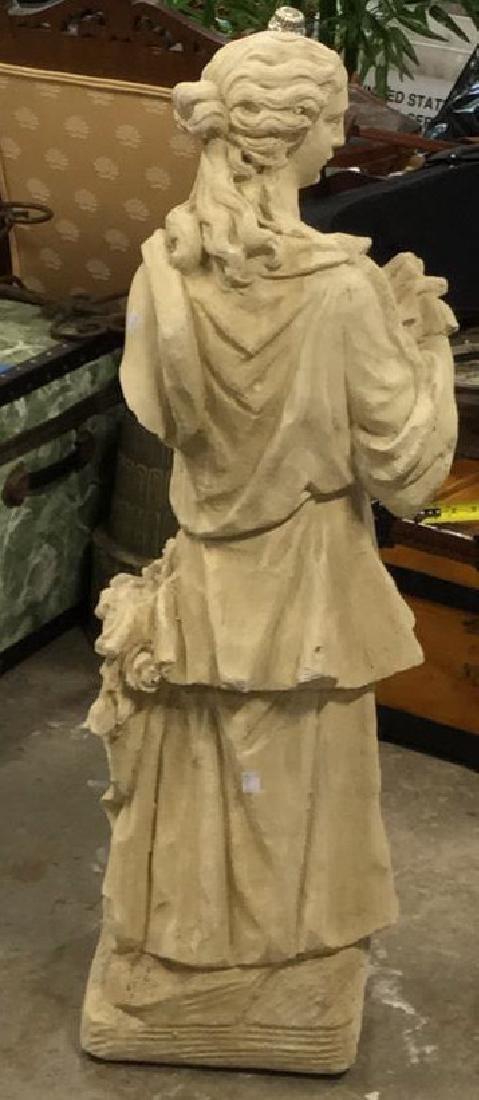 Stone Grecian Goddess Female Statuary - 6