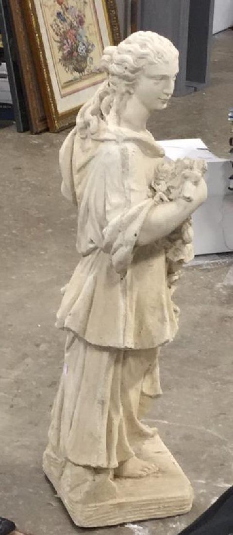 Stone Grecian Goddess Female Statuary - 7