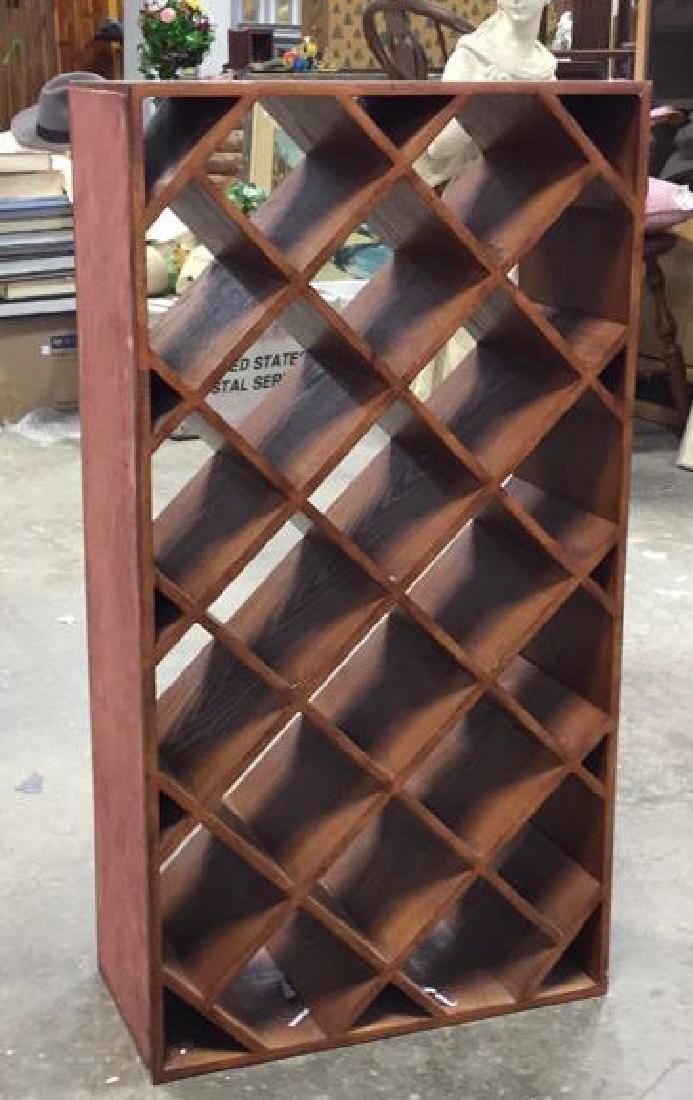 Custom Wood Wine Rack - 2