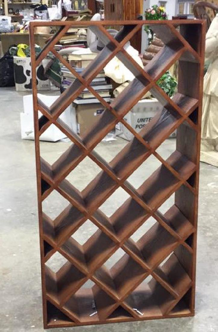 Custom Wood Wine Rack - 3