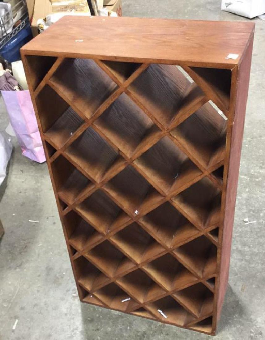 Custom Wood Wine Rack - 4