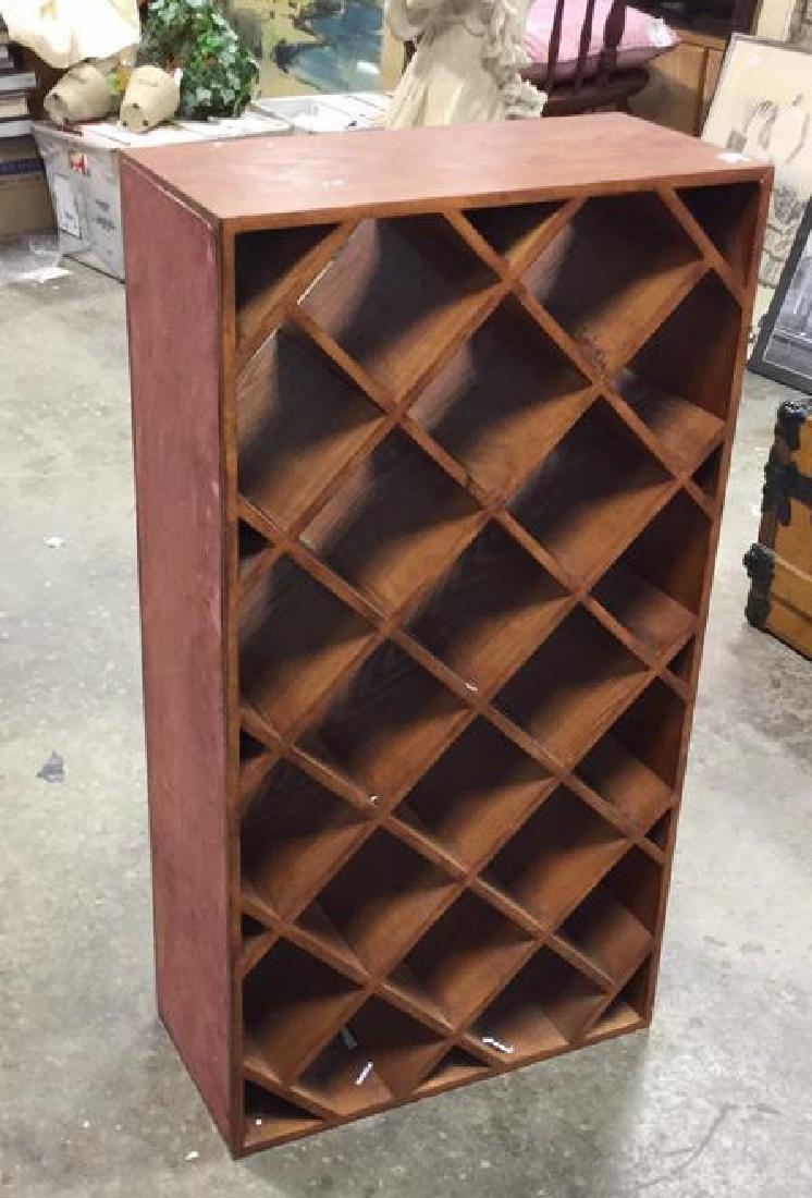 Custom Wood Wine Rack - 5