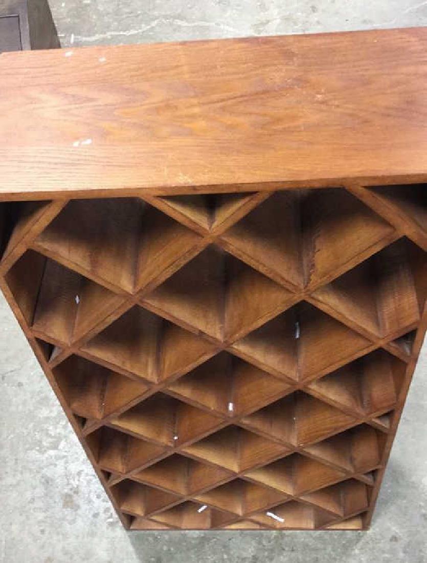Custom Wood Wine Rack - 6