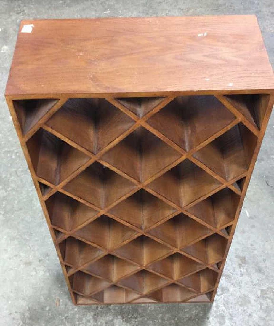 Custom Wood Wine Rack - 7