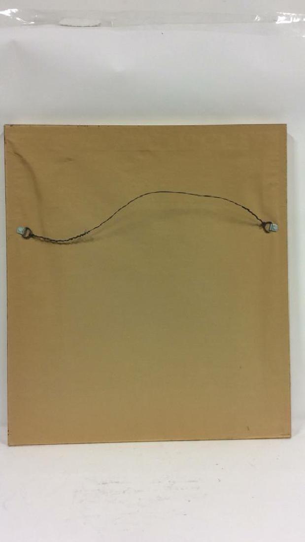 Framed & Matted Multi Toned Botanical Print - 10