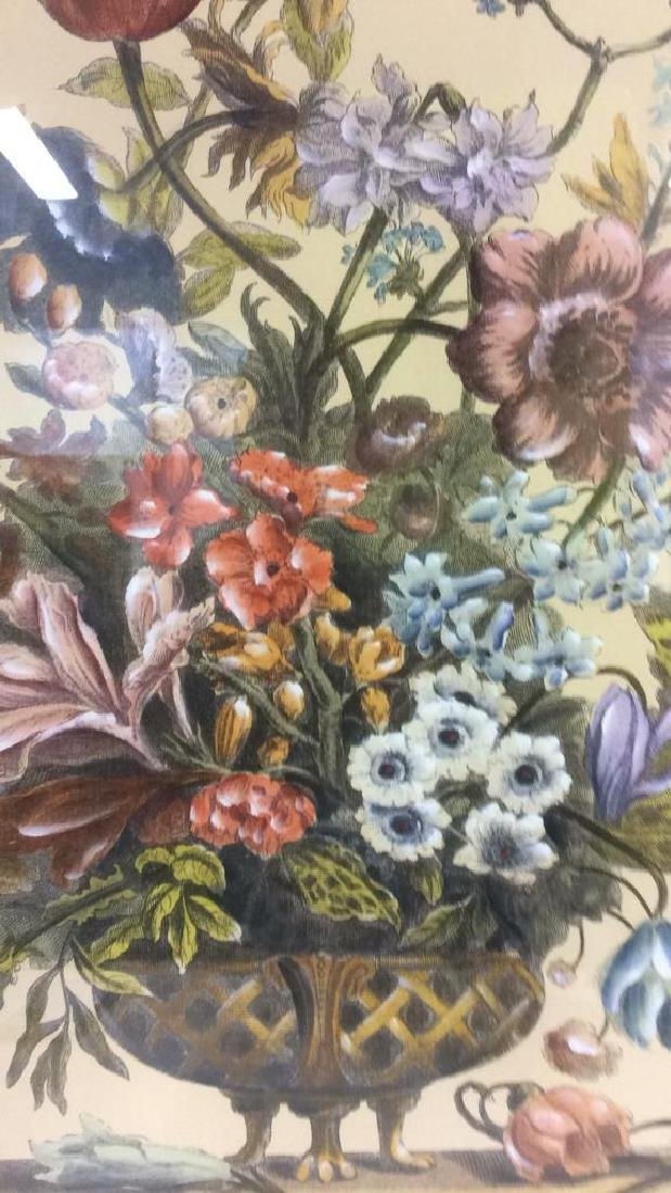 Framed & Matted Multi Toned Botanical Print - 5