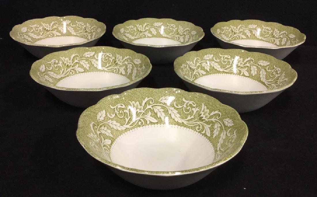 Set 6 J&G Meakin Renaissance Bowls