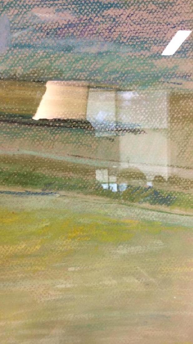 LASKY Framed Pastel Artwork of Child - 7