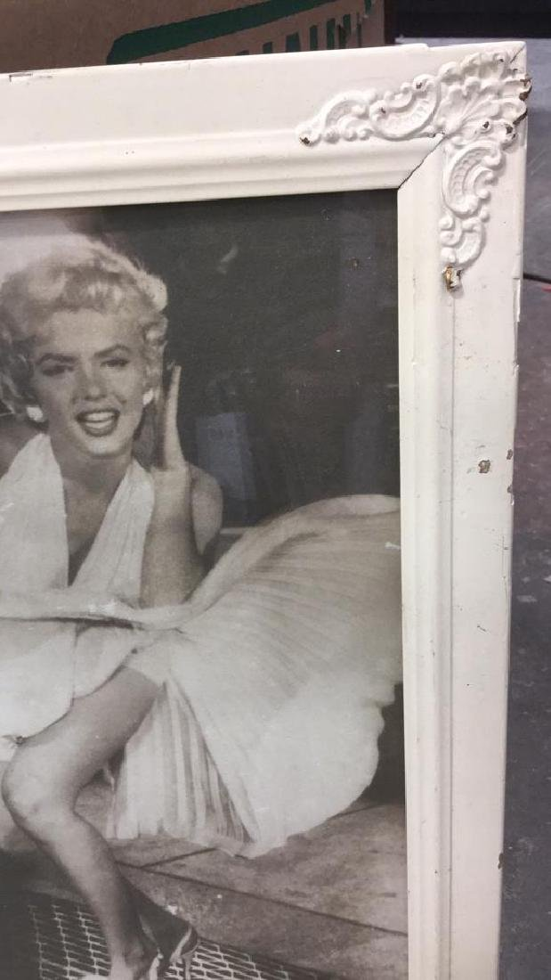 Lot 3 Vintage Frame With Marilyn Monroe Photo - 5