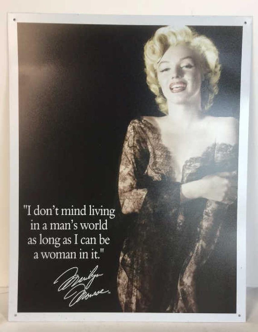 Lot 3 Vintage Frame With Marilyn Monroe Photo - 9