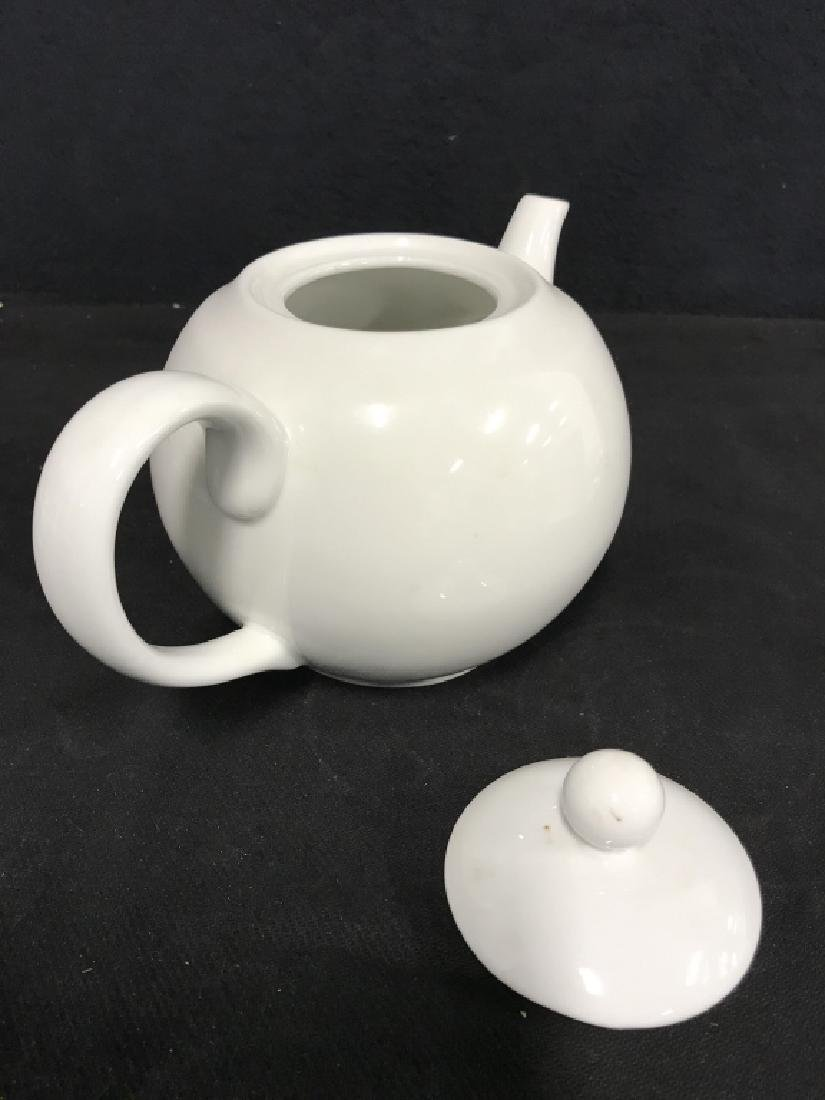 Lot 5 Assorted White Toned Porcelain Tabletop Acc. - 3