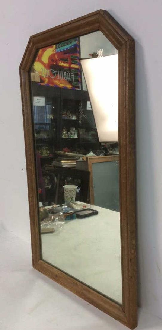 VIntage Wooden Frame Mirror - 2