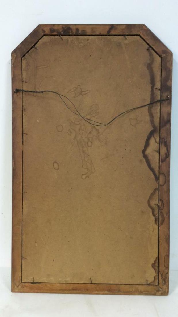 VIntage Wooden Frame Mirror - 5