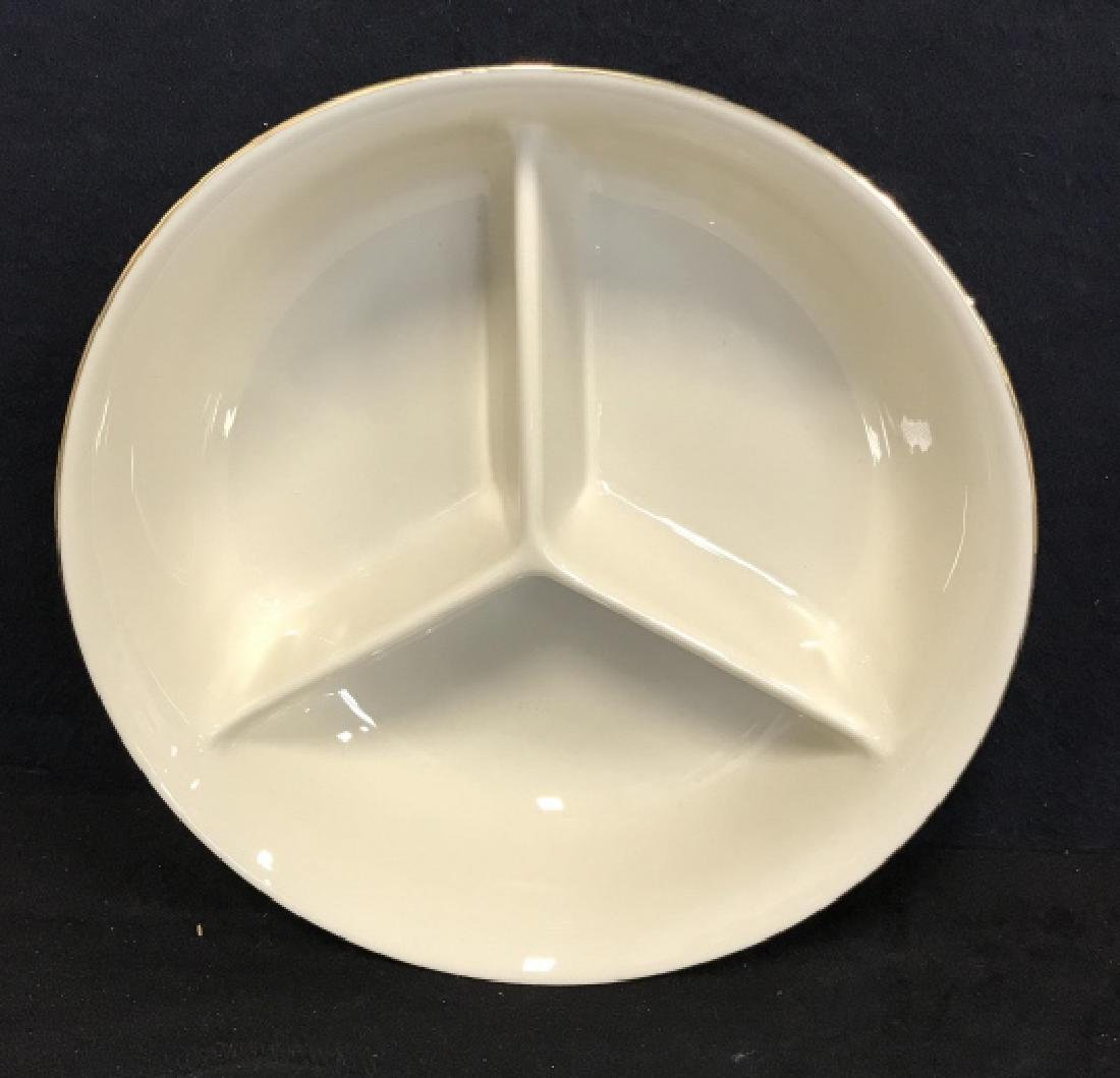 Lot 3 LENOX Vintage China Tabletop Accessories - 2