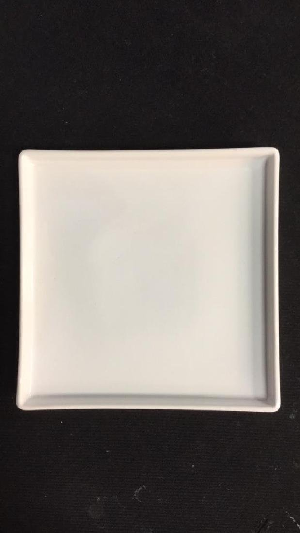 Set Of 9 Square Ceramic Dishes By CB2 - 7