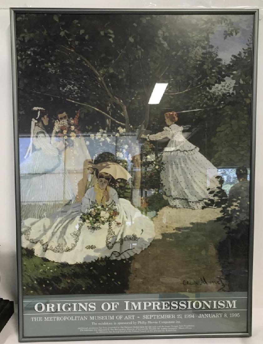 Origins of Impressionism Exhibition Poster