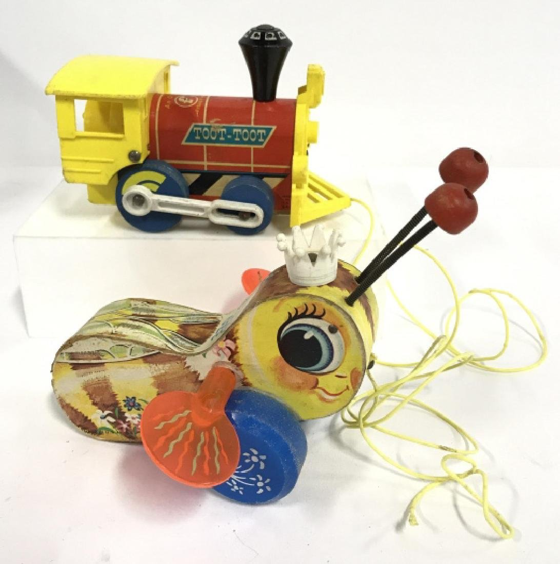 Vintage FISHER PRICE Pull Toys - 2