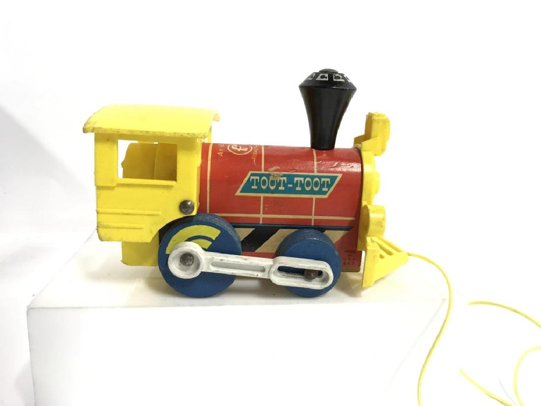 Vintage FISHER PRICE Pull Toys - 3