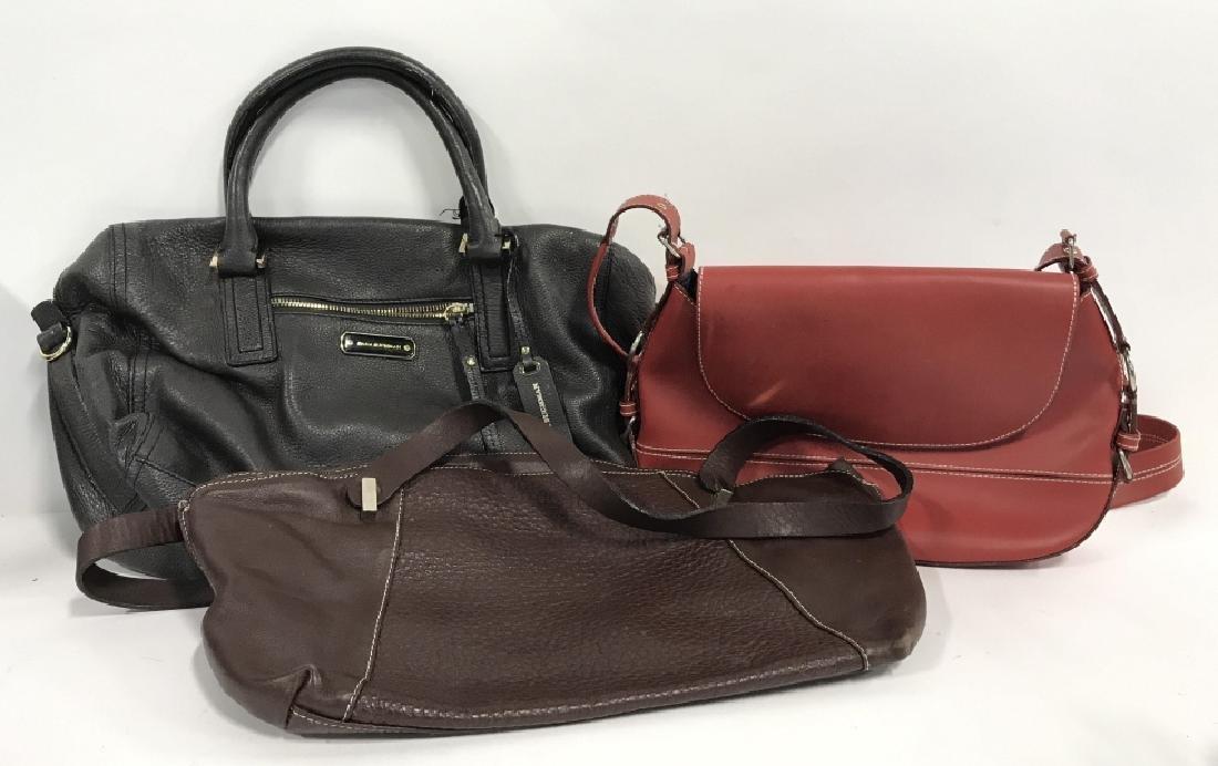 Lot 3 Leather Women's Designer Purses - 2