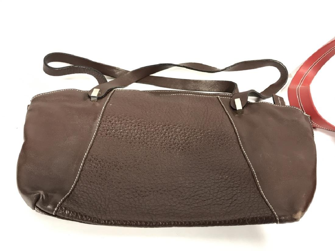 Lot 3 Leather Women's Designer Purses - 7