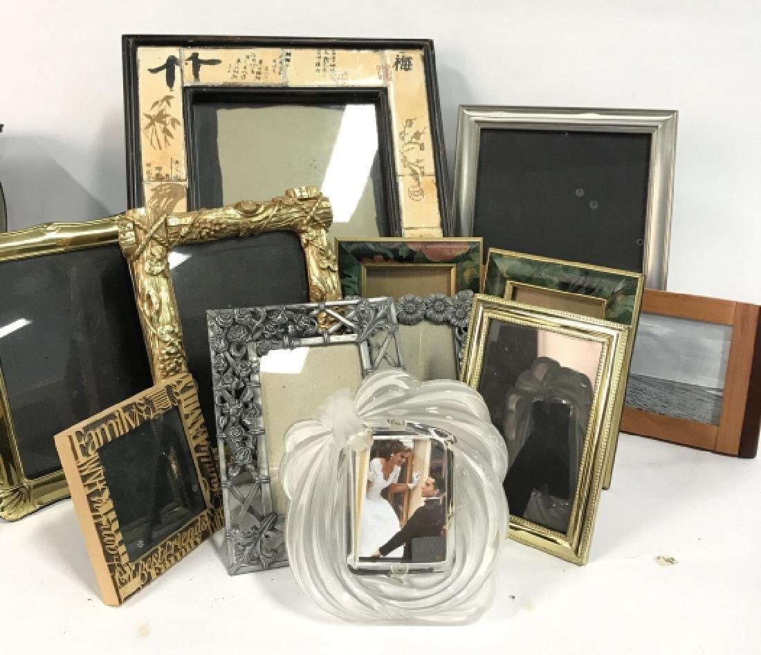 Lot 12 Assorted Picture Frames