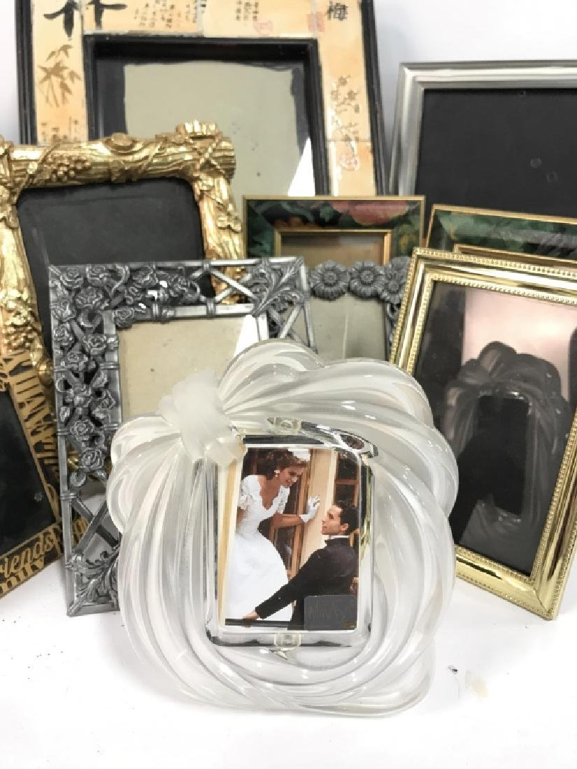 Lot 12 Assorted Picture Frames - 2
