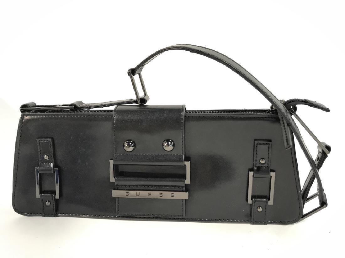 Lot 3 Black Toned Women's Designer Handbags - 3