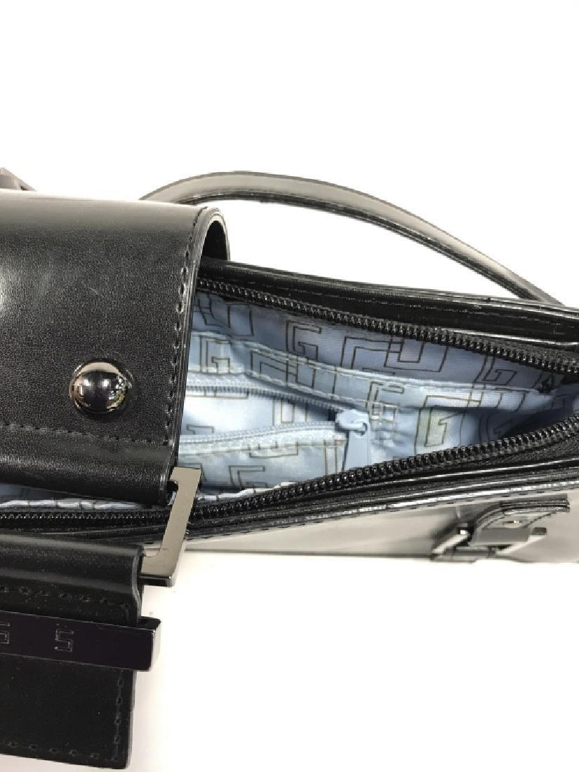 Lot 3 Black Toned Women's Designer Handbags - 5