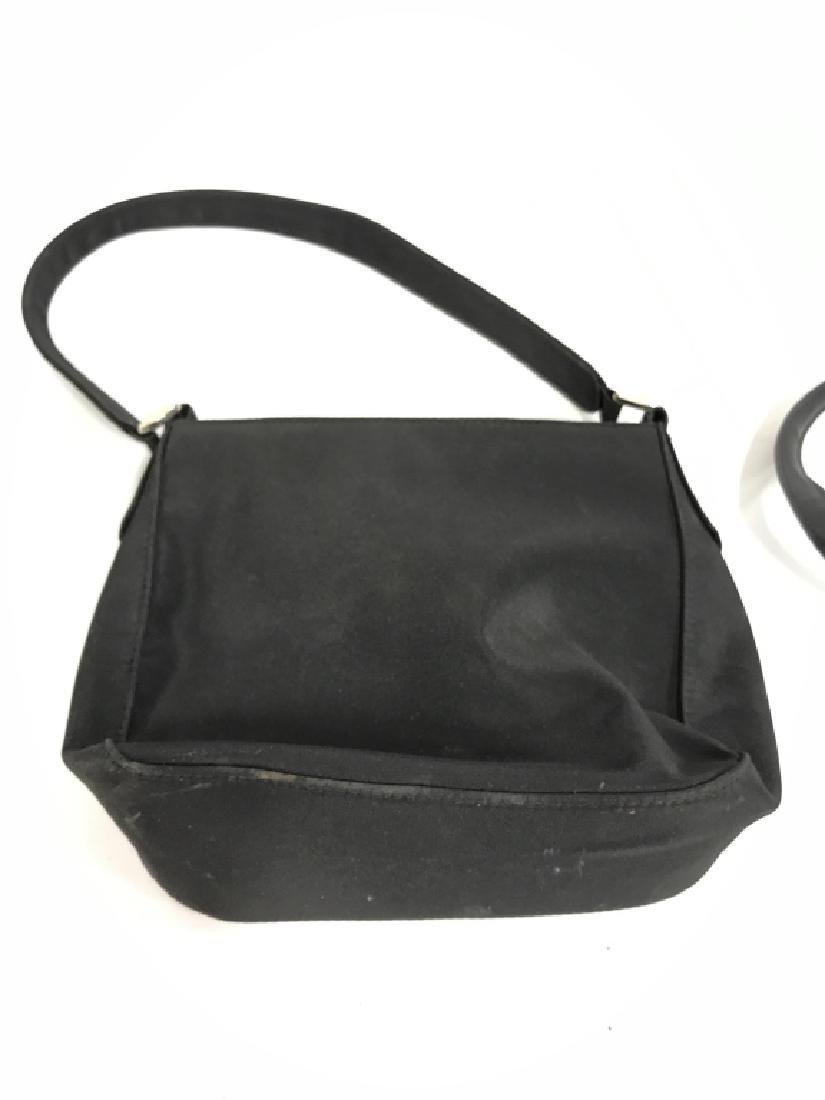 Lot 3 Black Toned Women's Designer Handbags - 7
