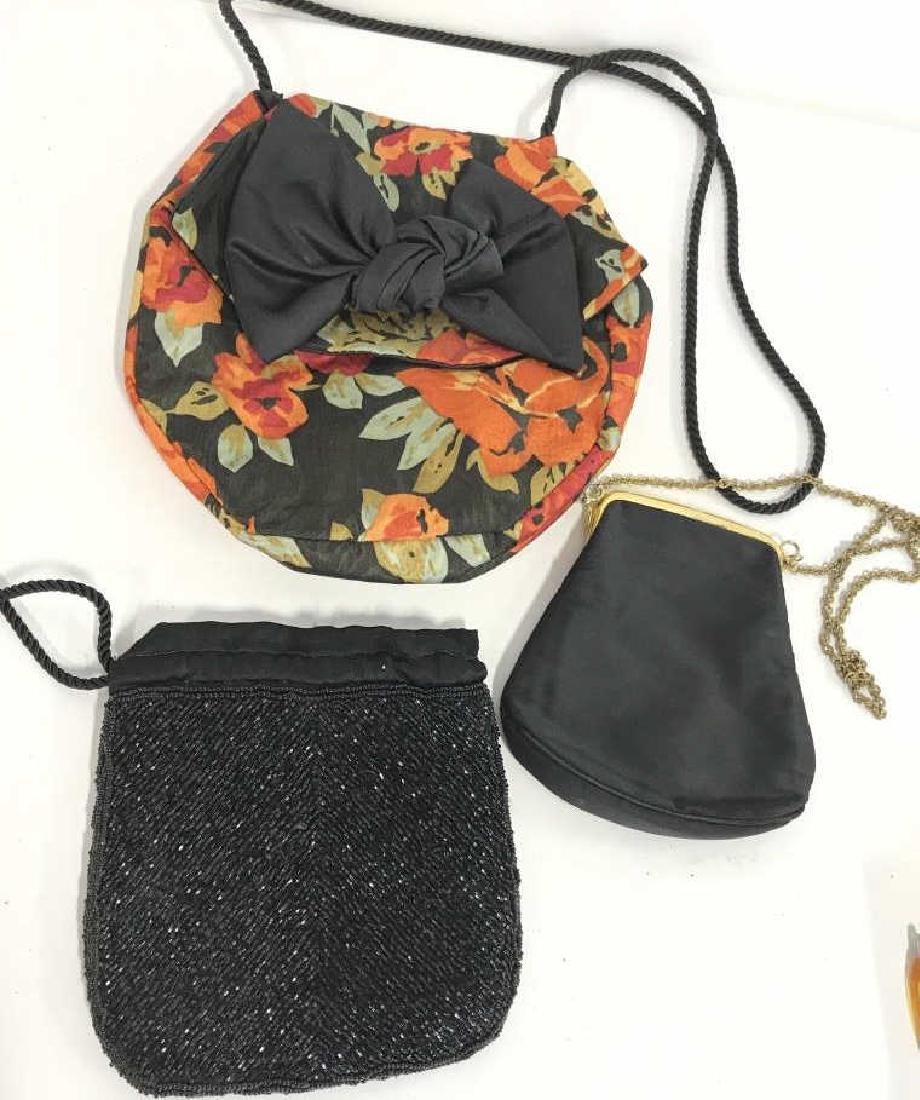 Lot 3 Women's Fabric Handbags