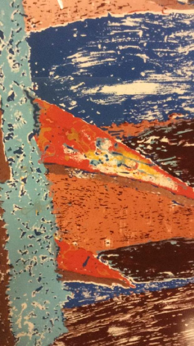 ESCALERA Framed Contemporary  Artwork