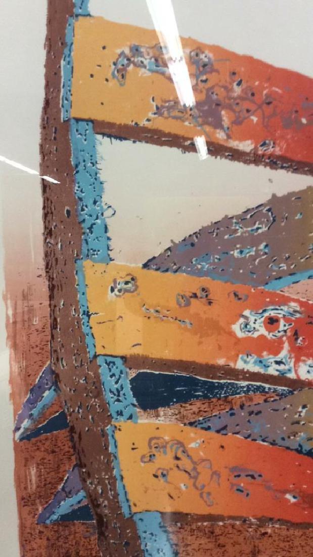 ESCALERA Framed Contemporary  Artwork - 6