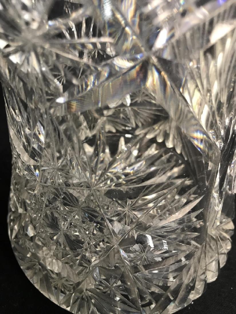 Cut Glass/Crystal Vintage Pitcher - 6