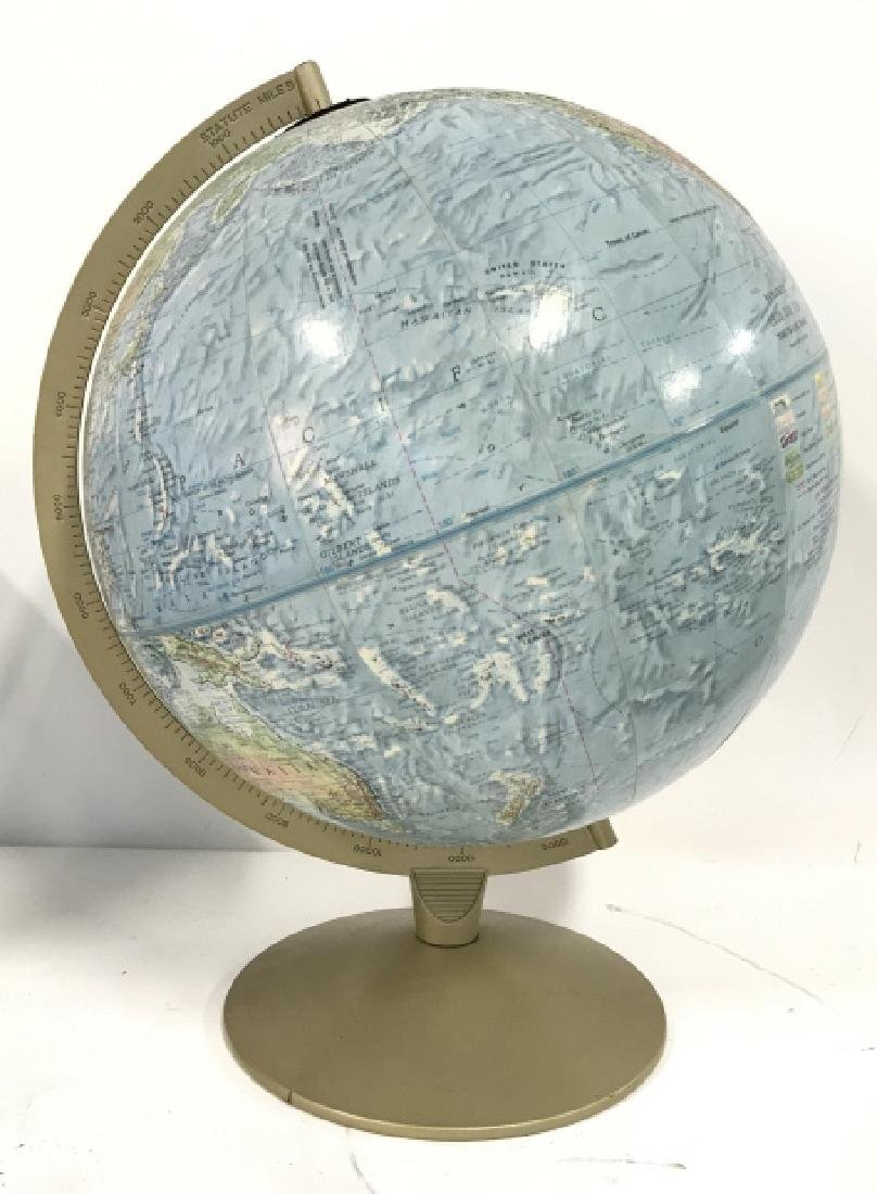 Tabletop Standing Spin Earth Globe