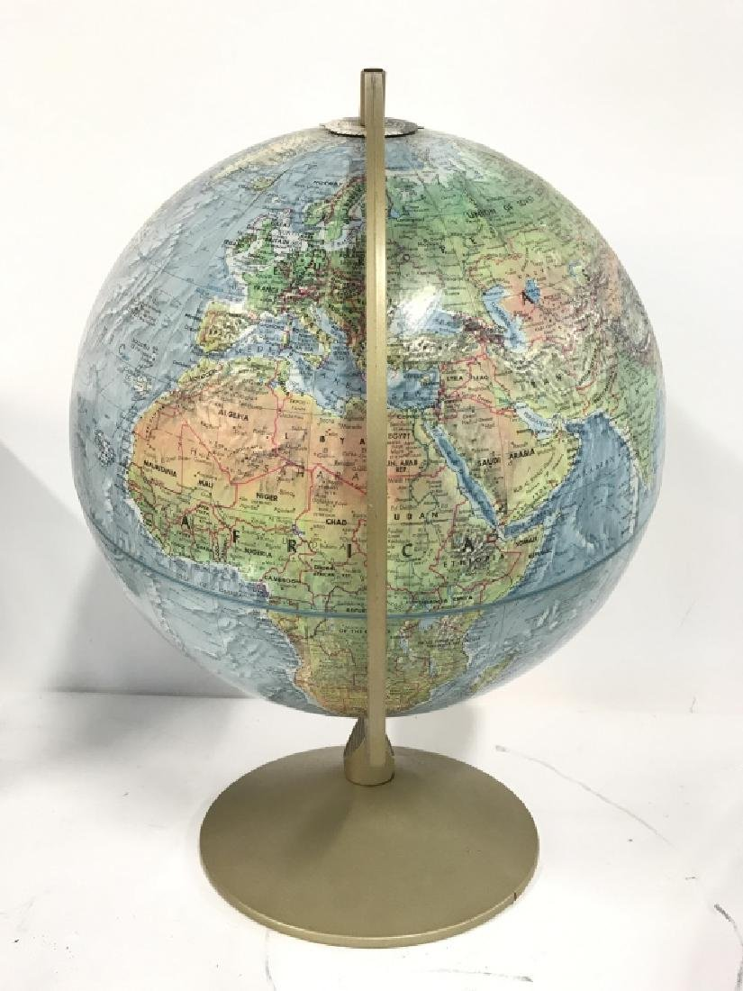 Tabletop Standing Spin Earth Globe - 5