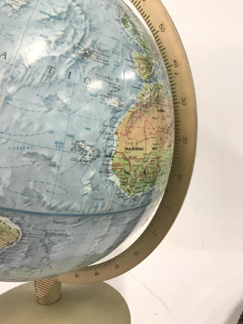 Tabletop Standing Spin Earth Globe - 6