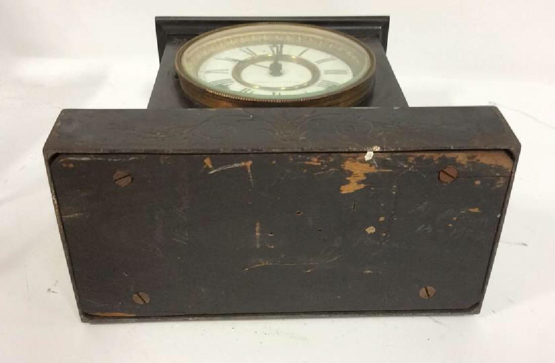 Black Iron Mantle Clock Antonia - 9