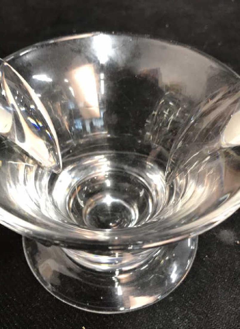 Steuben Crystal Swirl Candy Bowl - 7