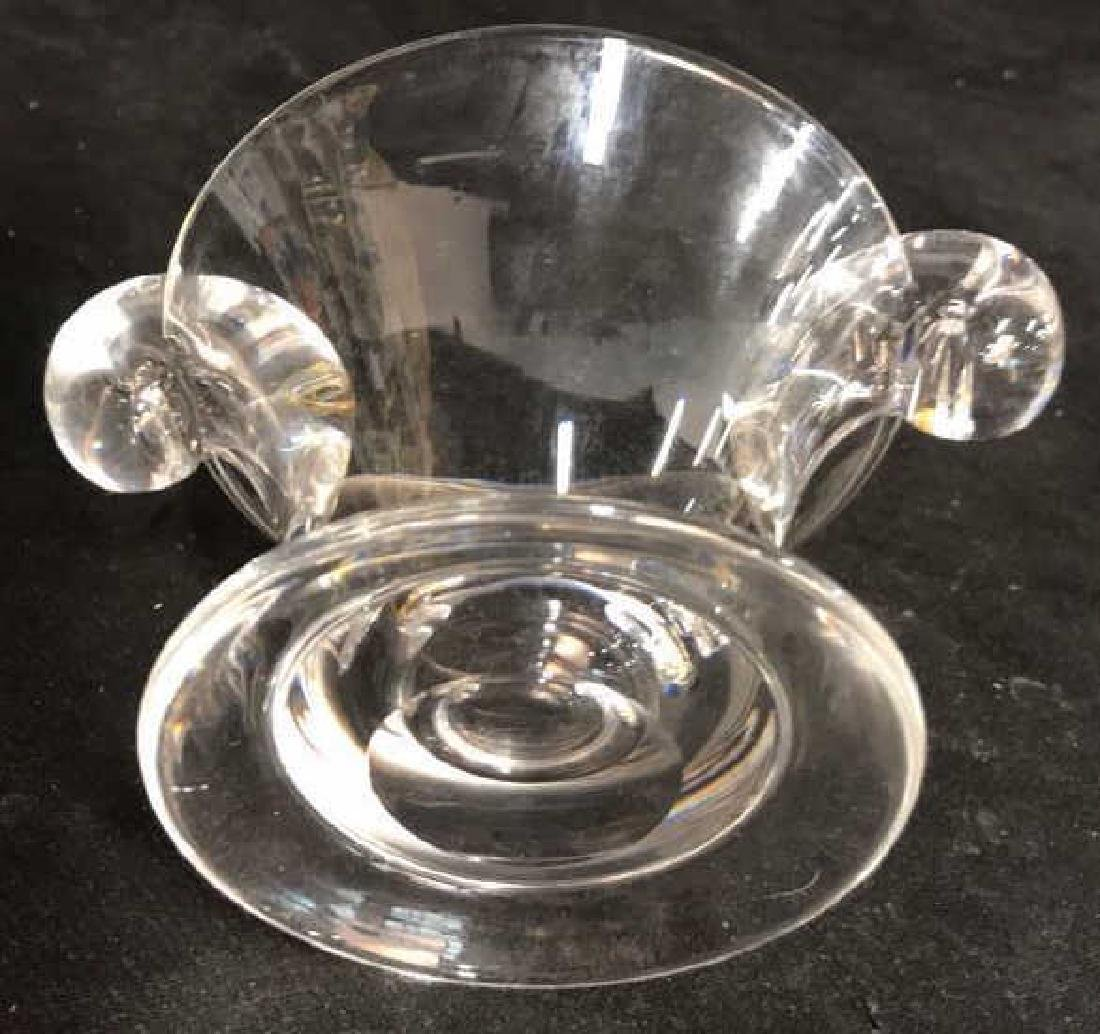 Steuben Crystal Swirl Candy Bowl - 9