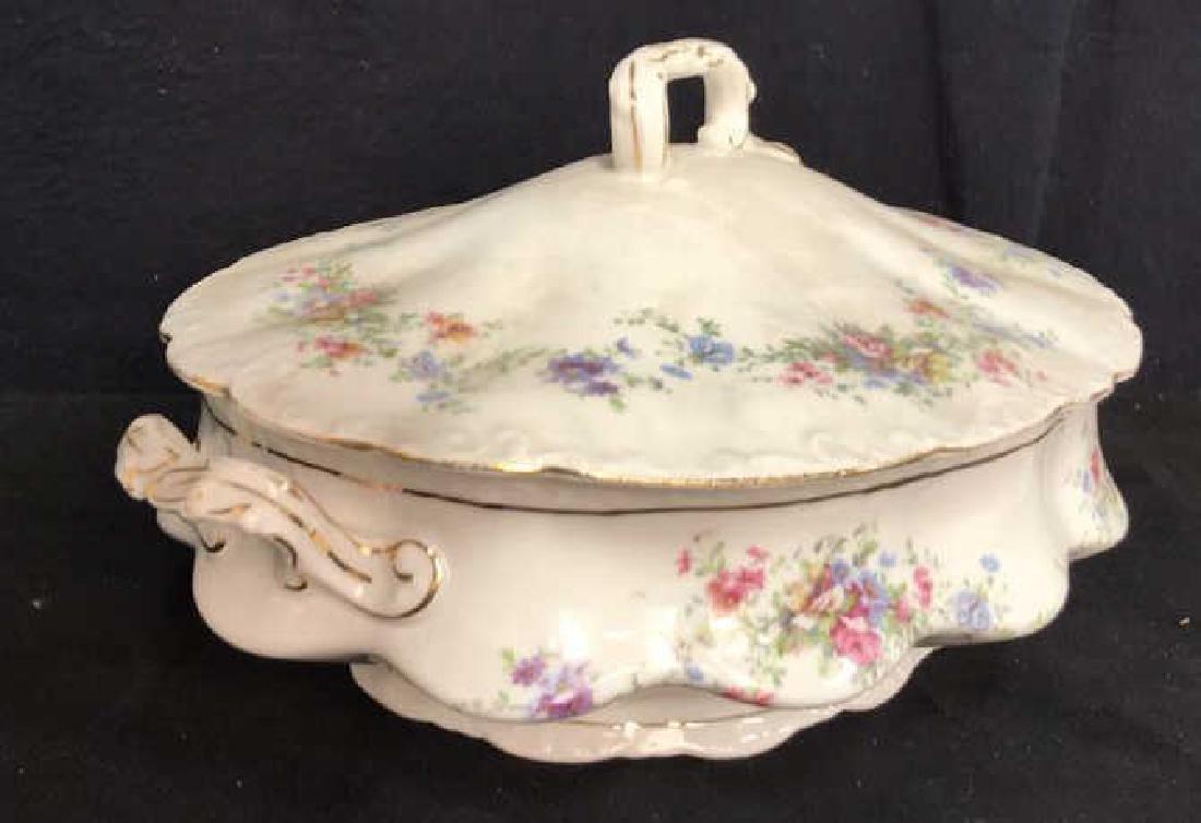 Group Austrian Porcelain Serving Pieces Vessels - 10