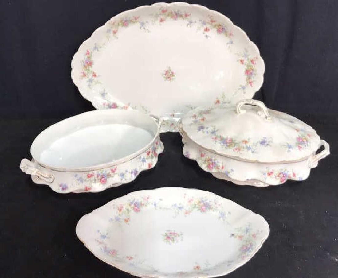 Group Austrian Porcelain Serving Pieces Vessels - 2