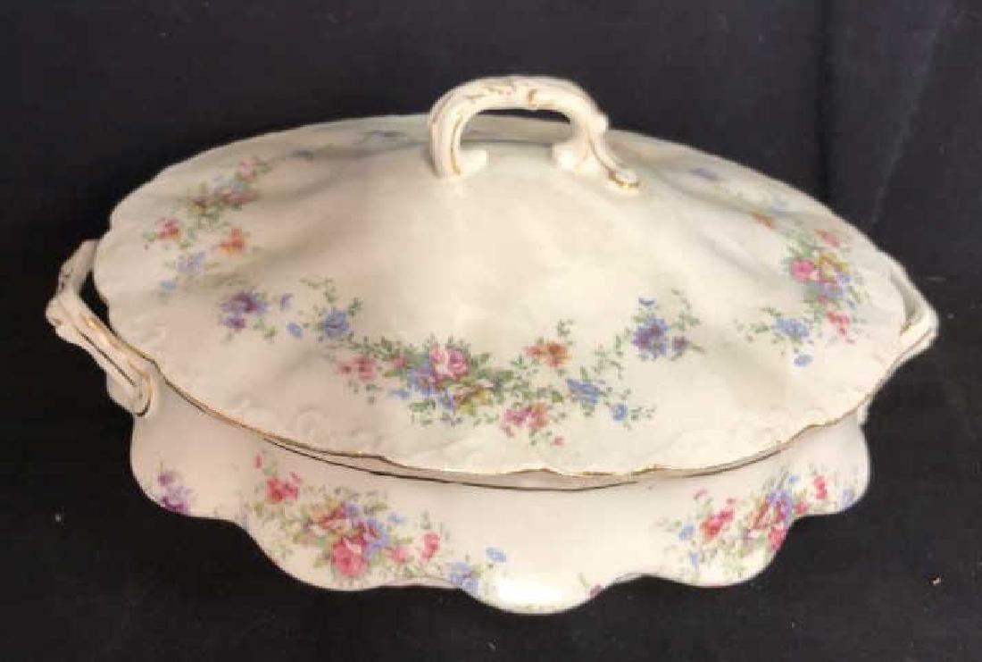 Group Austrian Porcelain Serving Pieces Vessels - 8