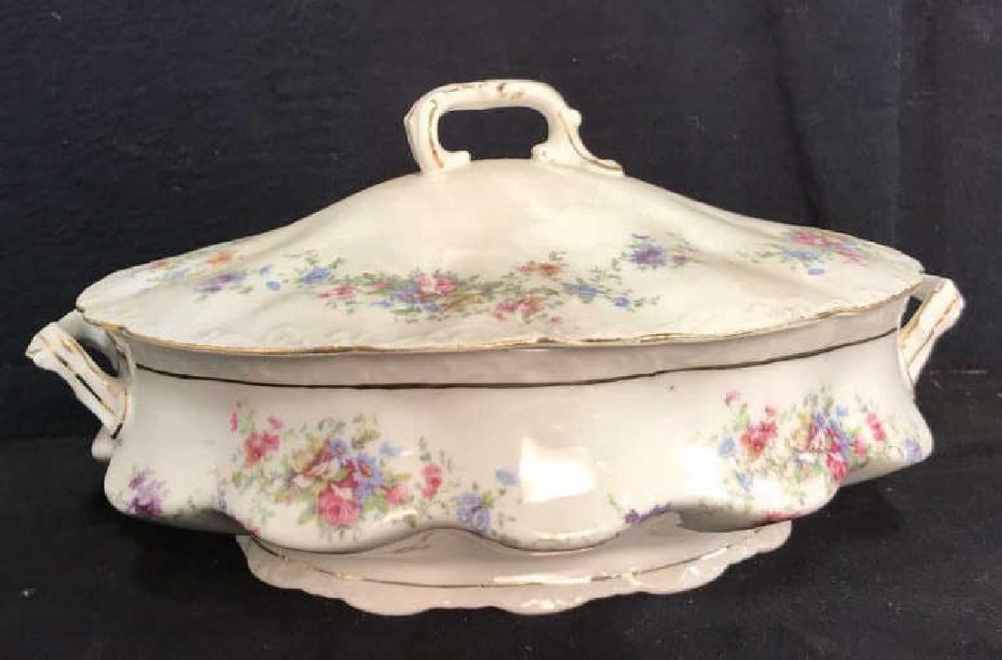 Group Austrian Porcelain Serving Pieces Vessels - 9