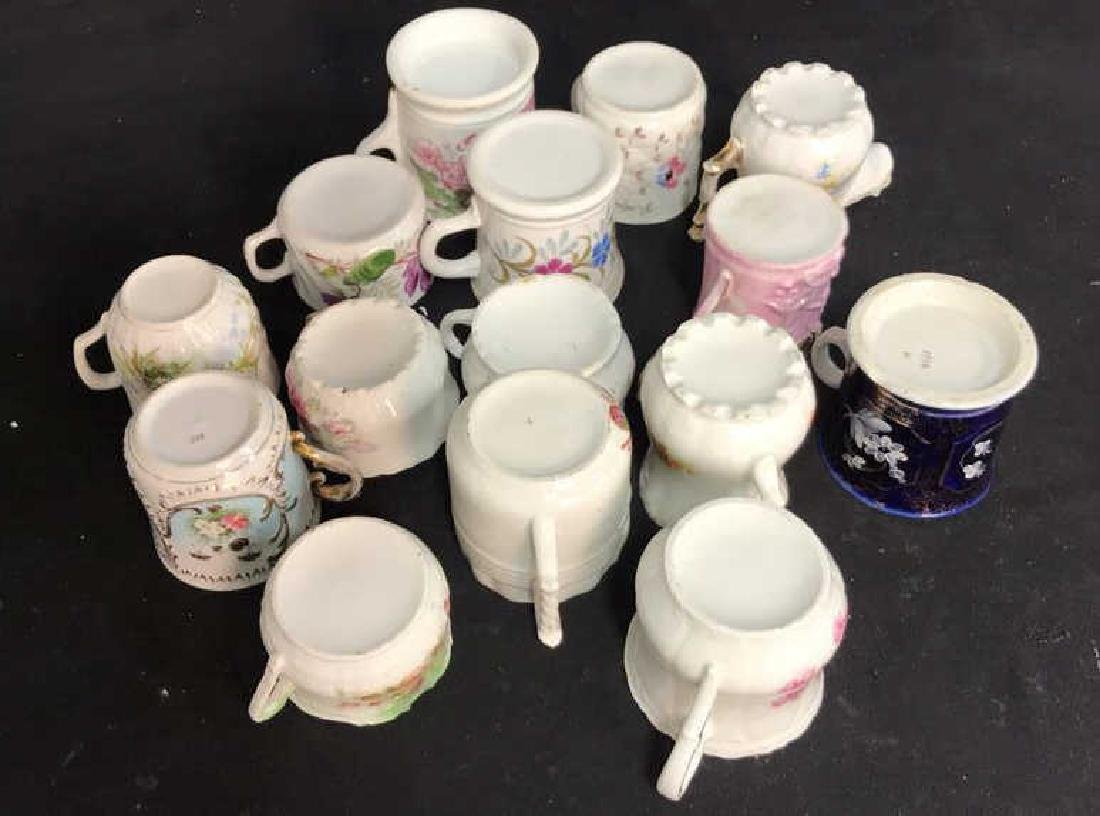 Collection 15 Mustache Cups, Shaving Cups Mugs - 8