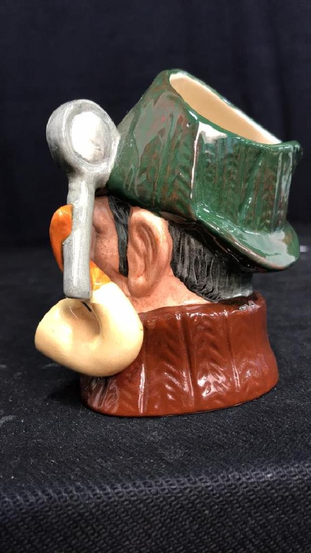 Royal Doulton Sleuth Porcelain Toby Mug - 6