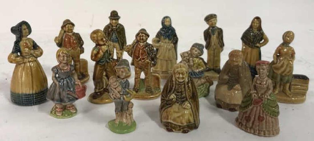 15 Ceramics Figurine Collection, Made In Ireland