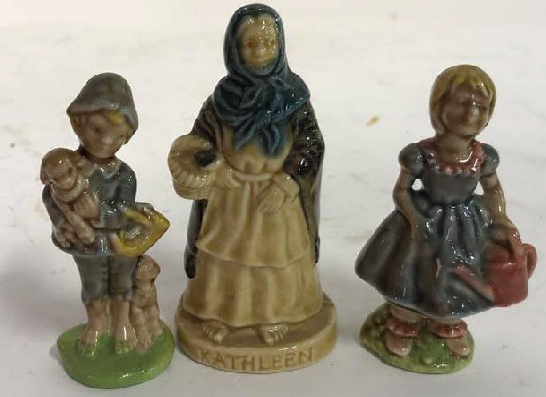 15 Ceramics Figurine Collection, Made In Ireland - 4