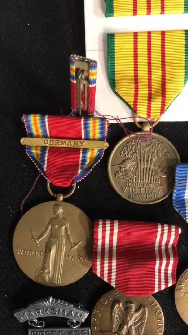 Group Lot 17 Military Medals, Antique and Vintage - 2